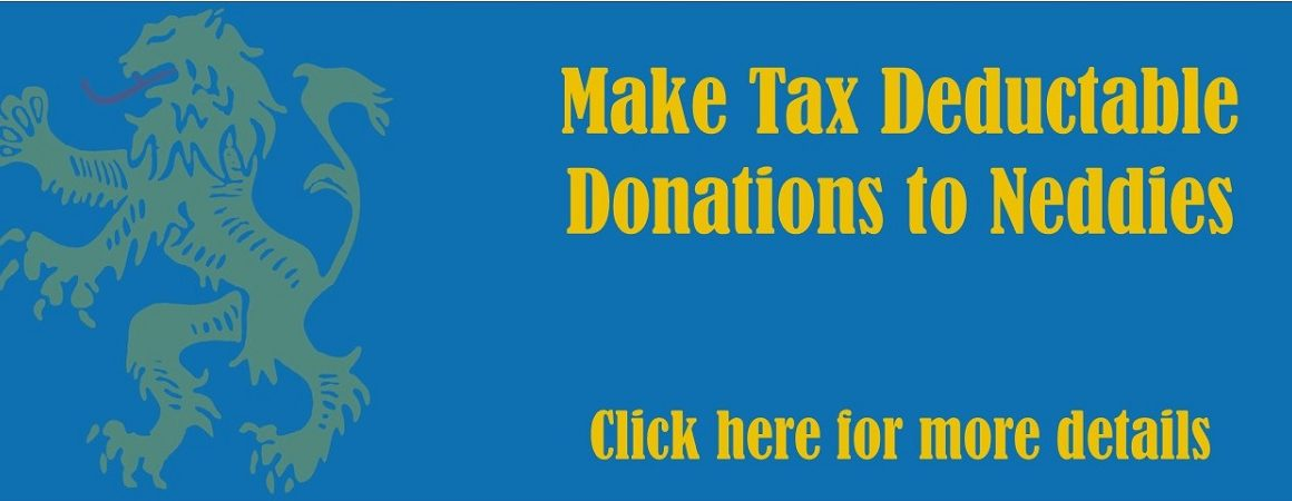 Make Tax Deductable Donations to Neddies