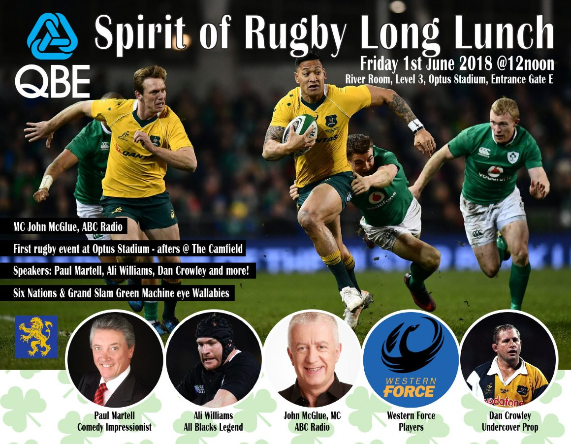Spirit of Rugby Long Lunch