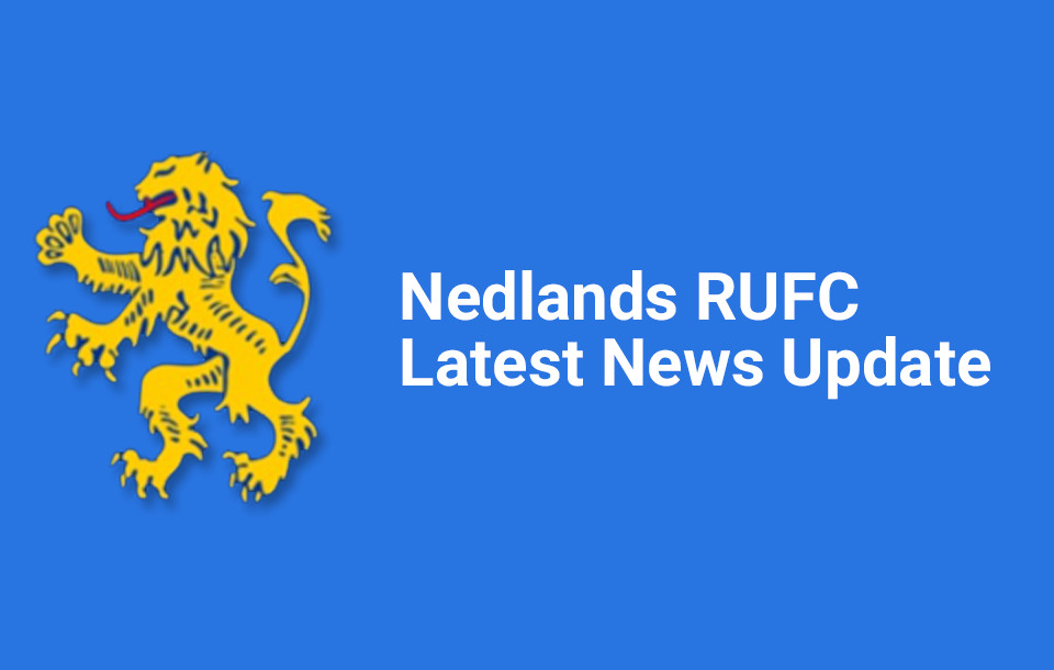 Nedlands Rugby Club Coronavirus Update No: 2