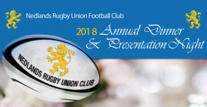 NRUFC 2018 Annual Dinner & Presentation Night @ Mercure Hotel | Perth | Western Australia | Australia