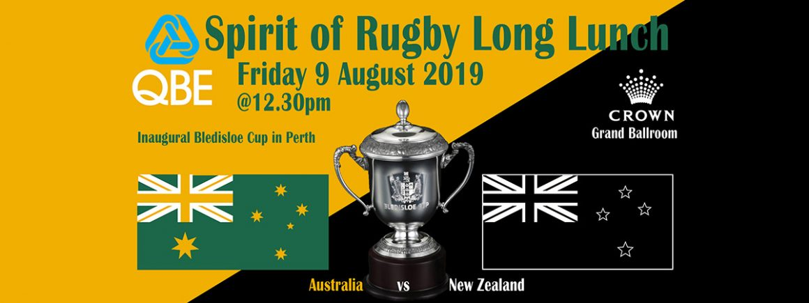 Spirit of Rugby Long Lunch 2019