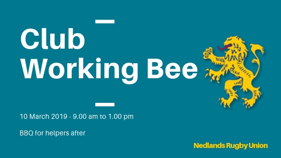 2019 Club Working Bee