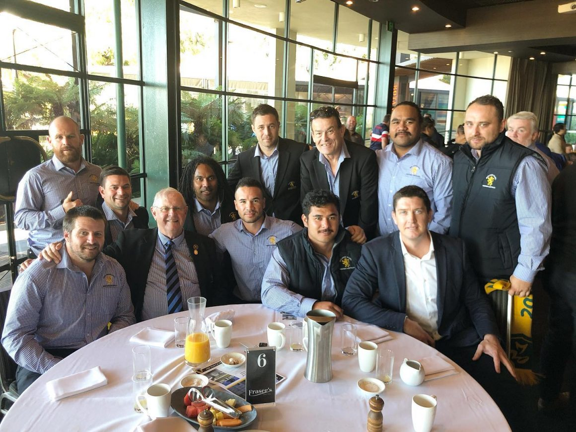 2019 PG Hampshire Breakfast – Congratulations Sam Rarasea on being named 2019 RugbyWA – Coach of the Year