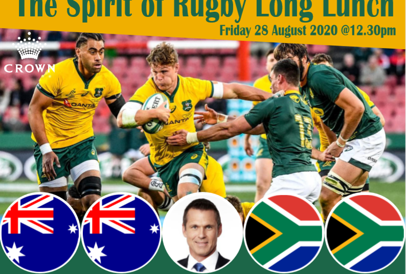Spirit of Rugby Long Lunch – 28 August 2020