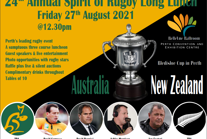24th Annual Spirit of Rugby Long Lunch
